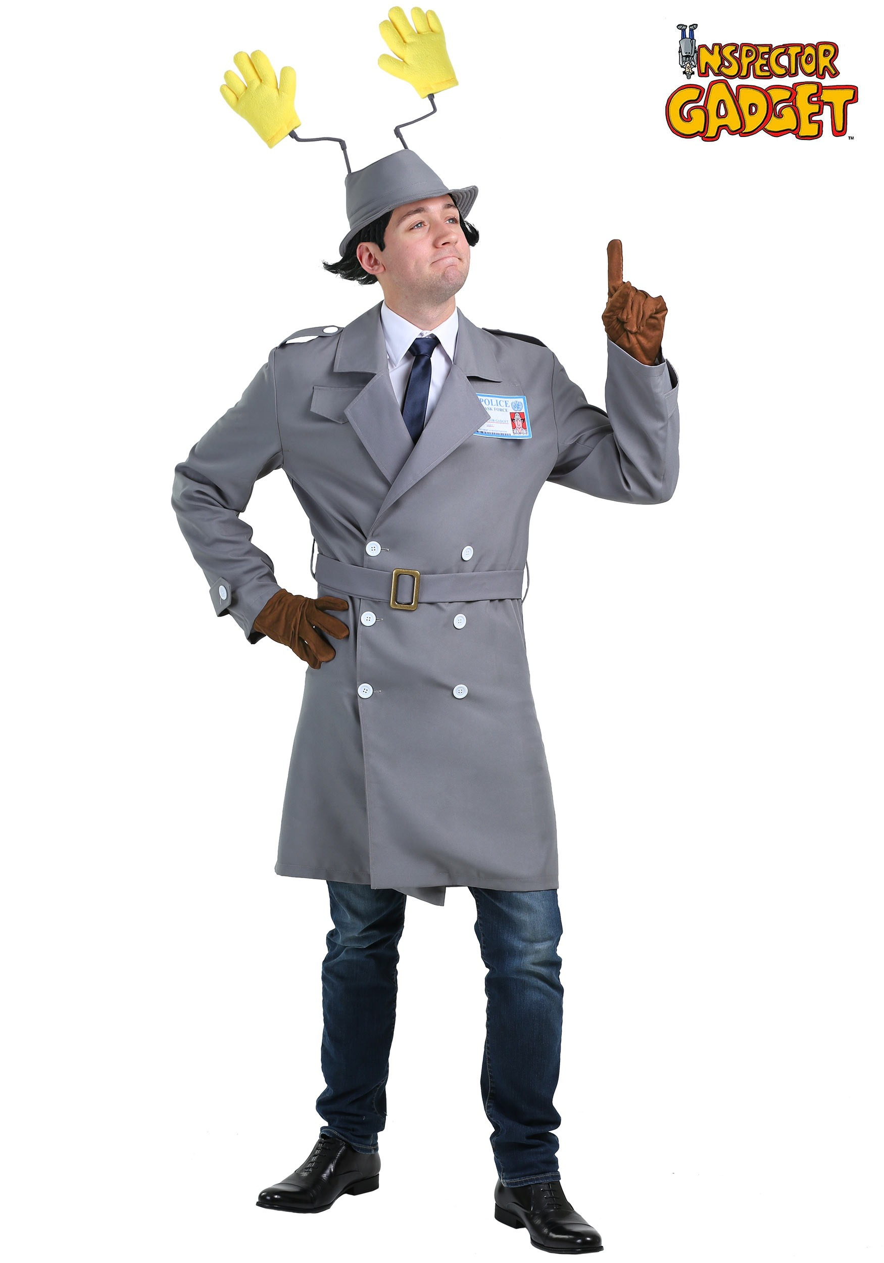 Inspector Gadget Plus Size Men's Costume