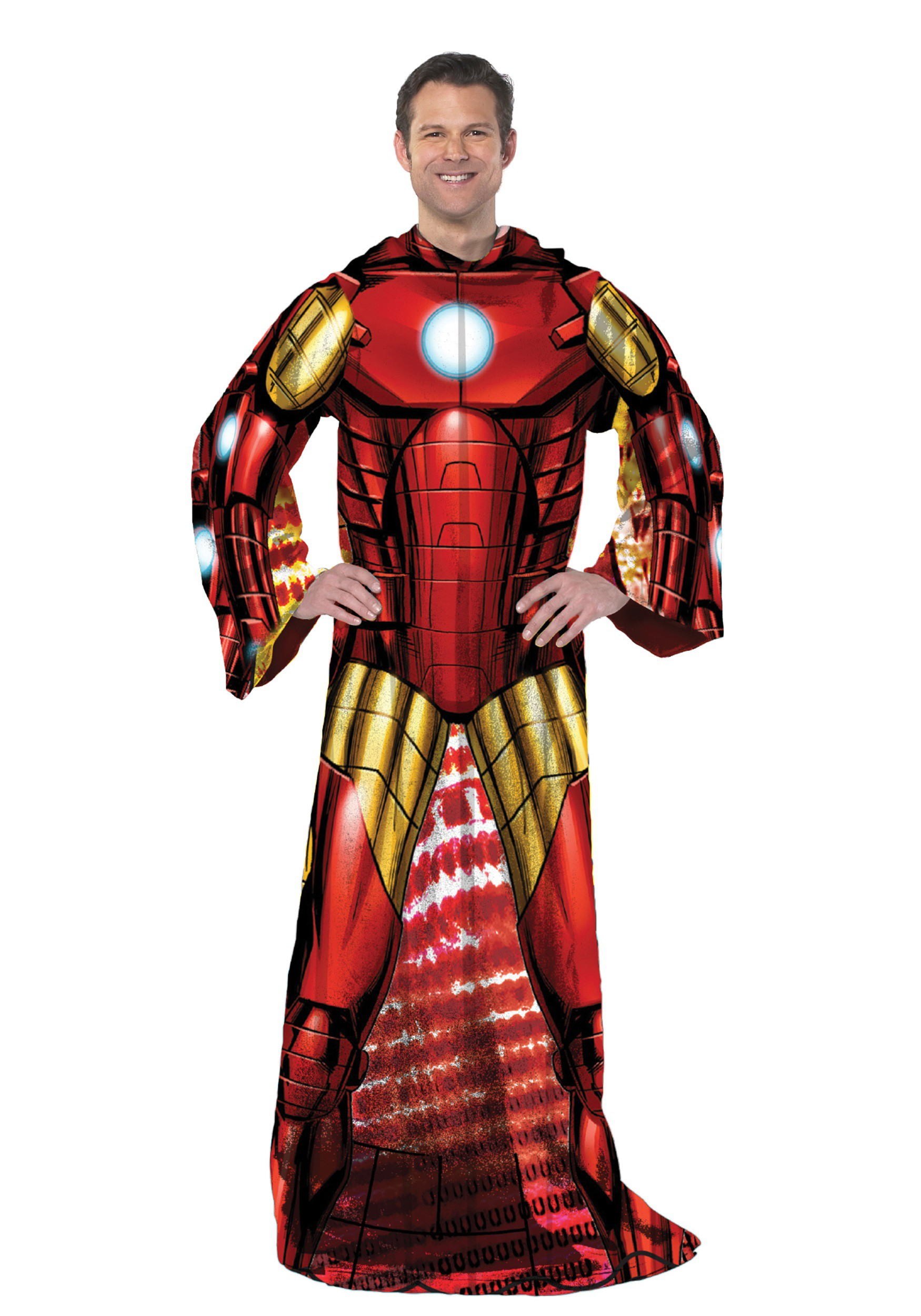 Iron Man Adult Comfy Throw