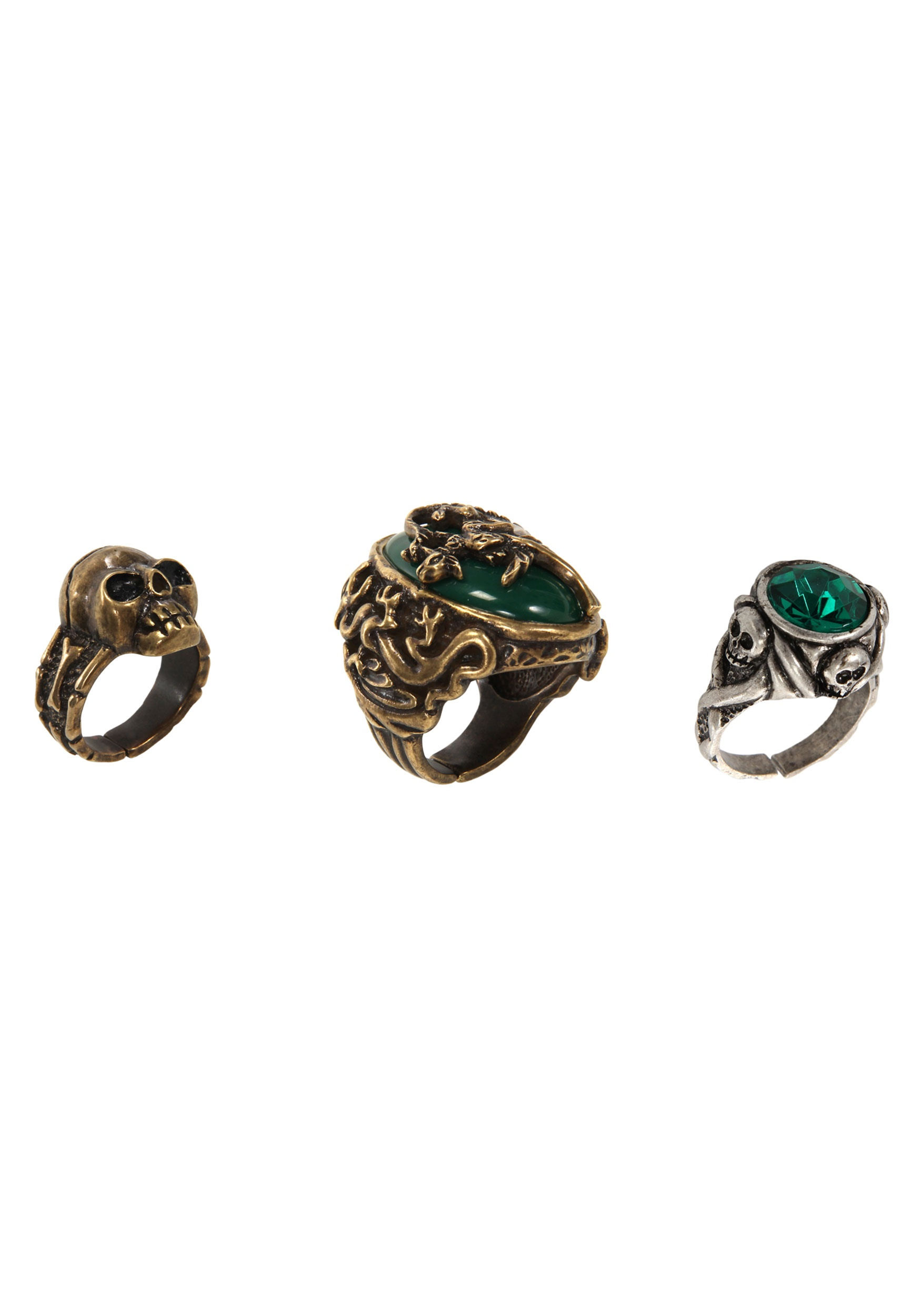 Jack Sparrow Ring Set