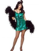 Jade Sequin Flapper Costume