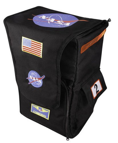 Jr Astronaut Backpack - Black