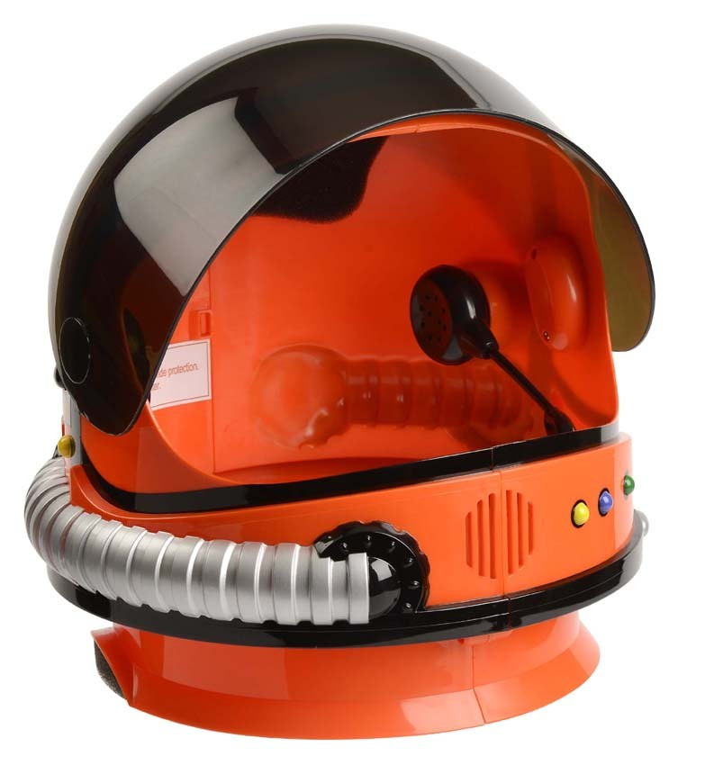 Jr Astronaut Helmet - Orange