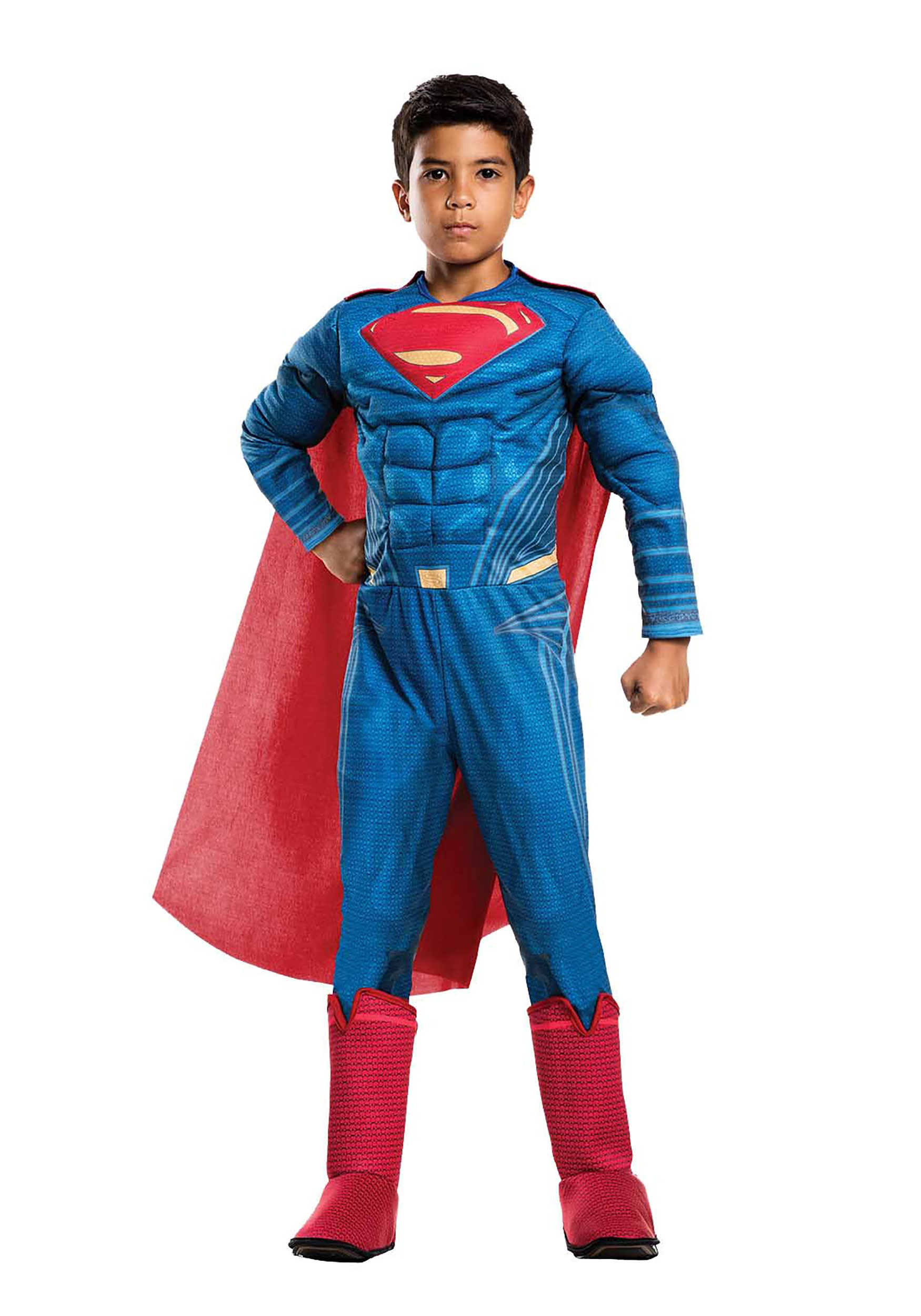 Justice League Deluxe Superman Boys Costume