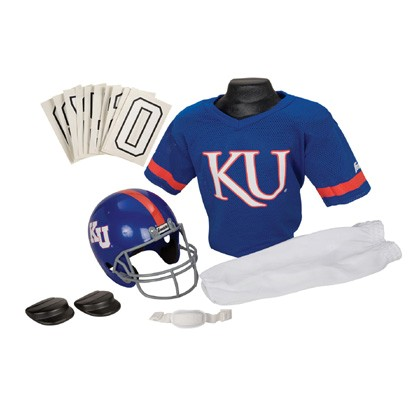 Kansas Jayhawks Youth Uniform Set