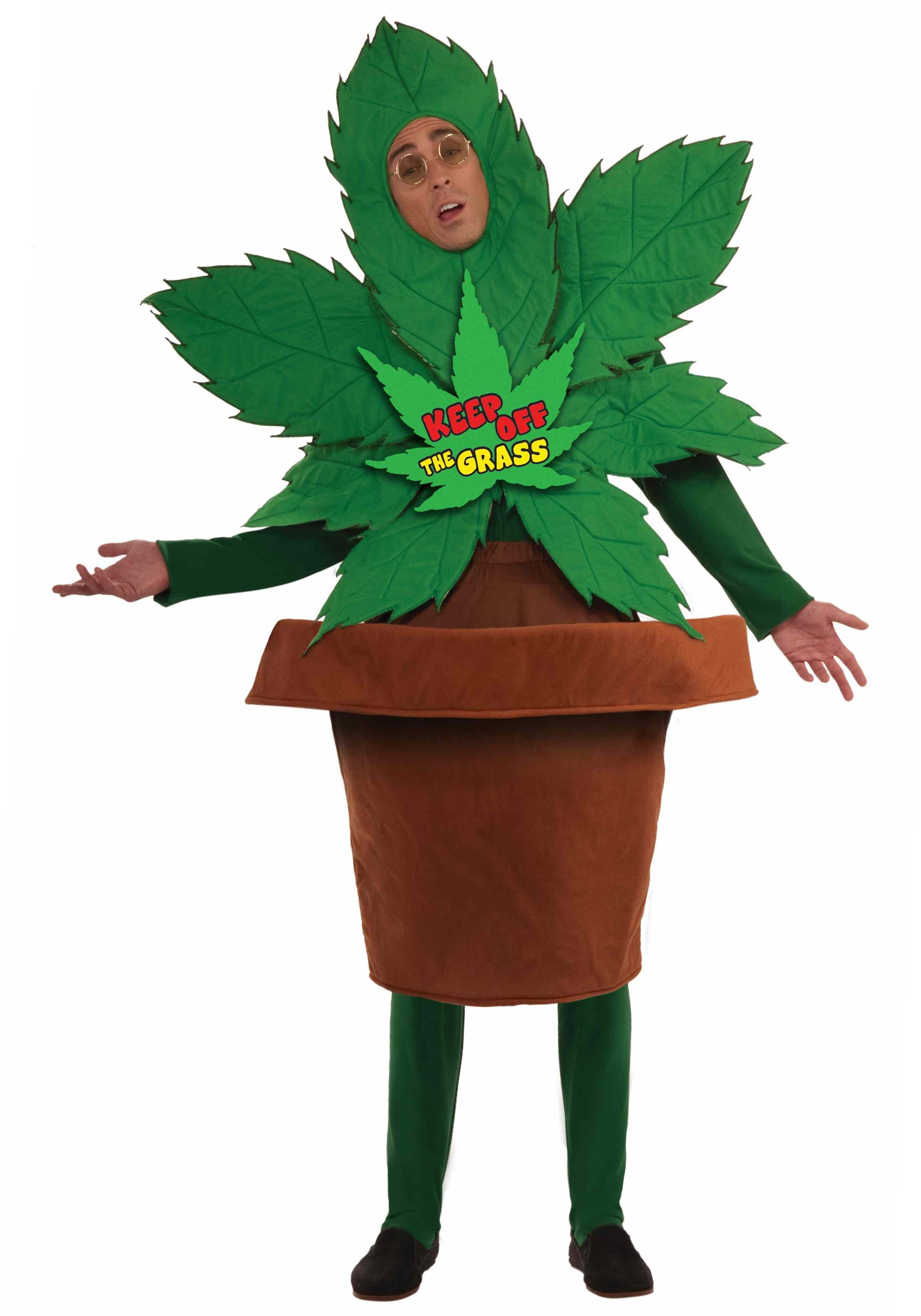 Keep Off The Grass Costume