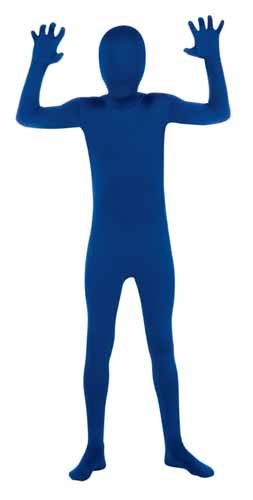 Kids 2nd Skin Blue Body Suit