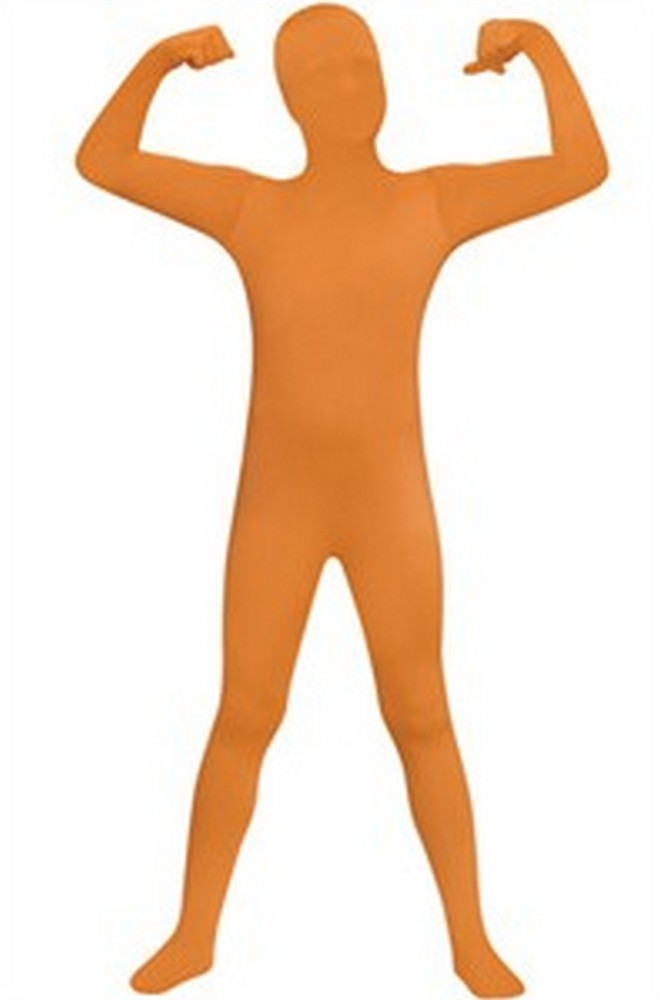Kids 2nd Skin Costume - Orange
