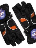 Kids Astronaut Gloves - Black