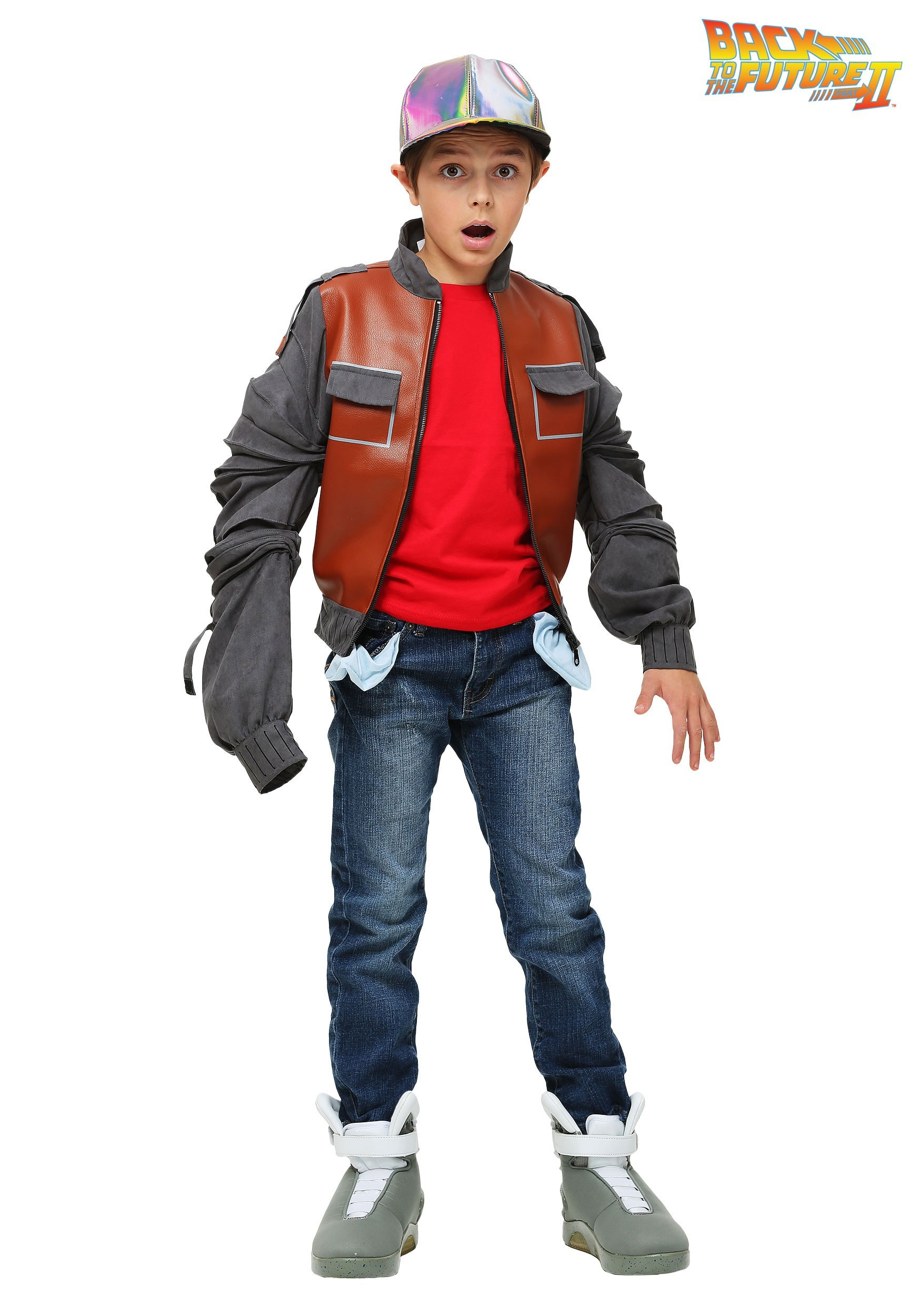 Kids Back to the Future Marty McFly Jacket