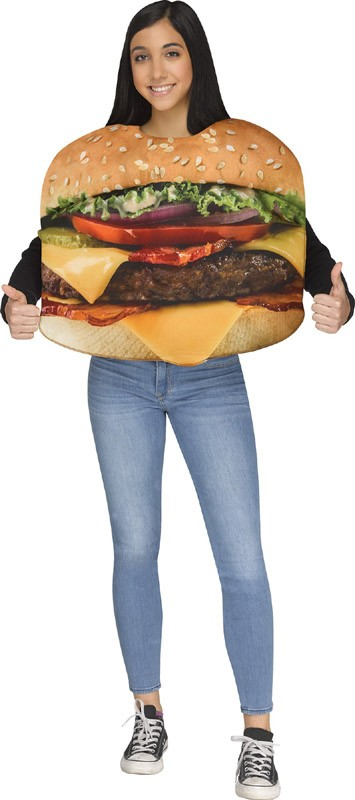 Kids Bacon Cheeseburger Costume