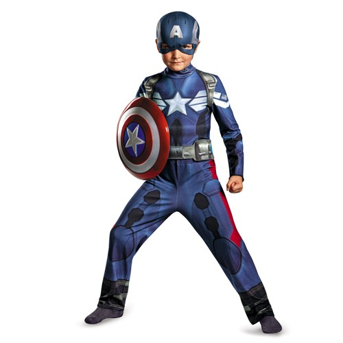 Kids Captain America Movie 2 Costume