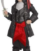 Kids Captain Black Pirate Costume