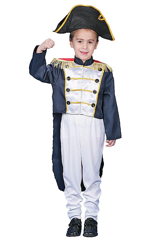 Kids Colonial General Costume