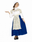 Kids Colonial Peasant Girl Costume