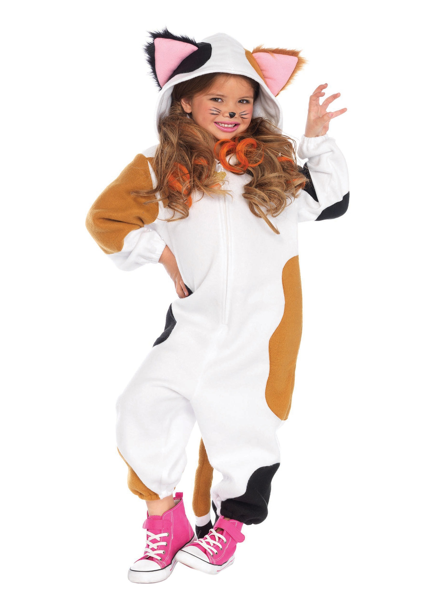 Kids Cozy Cat Costume