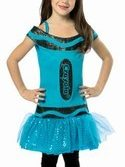 Kids Crayola  Dress - Blue 4-6