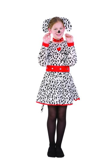 Kids Dalmatian Dress Costume