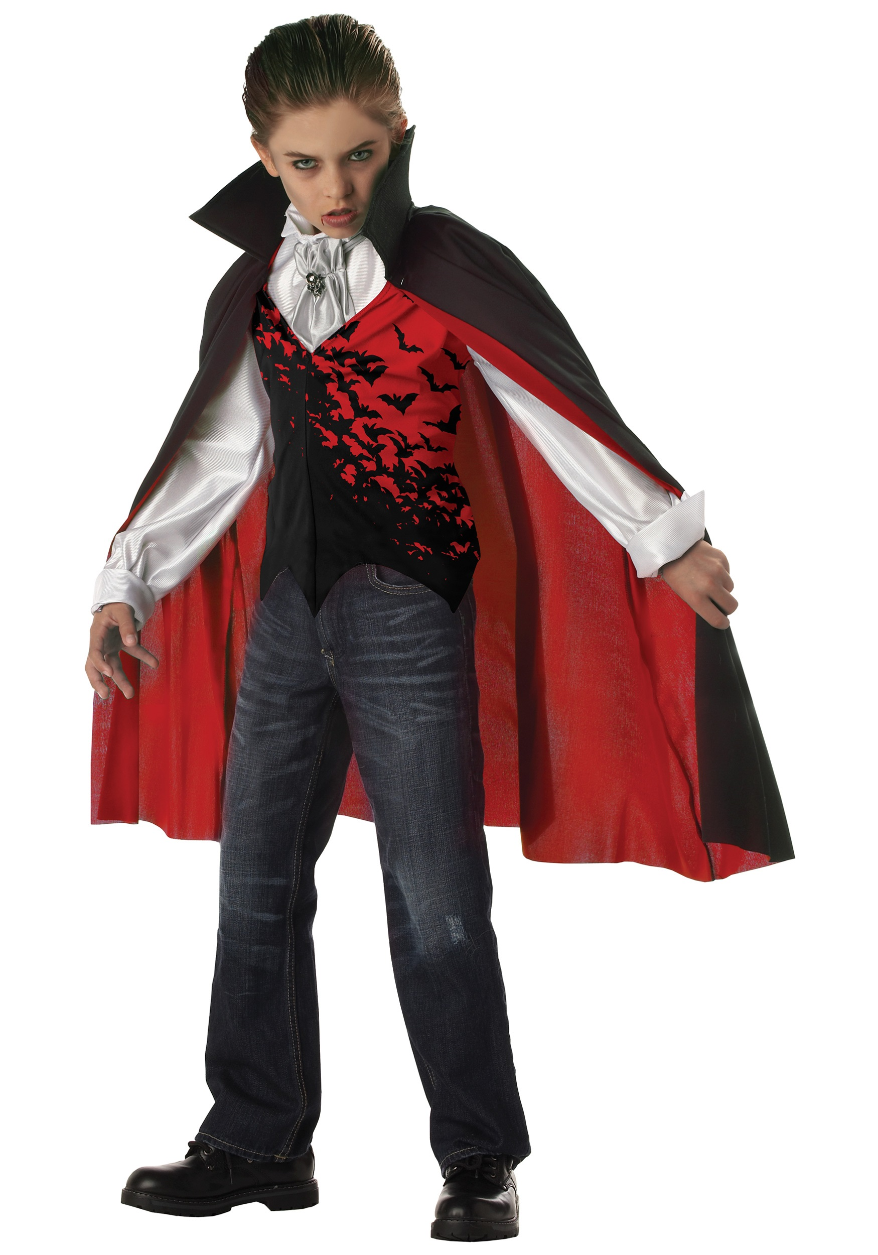 Kids Dark Vampire Costume