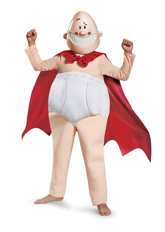 Kids Deluxe Captain Underpants Costume