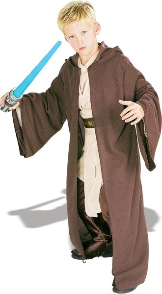 Kids Deluxe Hooded Jedi Robe