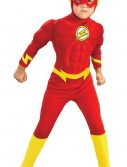 Kids Deluxe Muscle Chest The Flash Costume