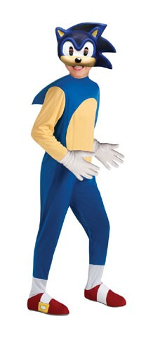 Kids Deluxe Sonic the Hedgehog Costume