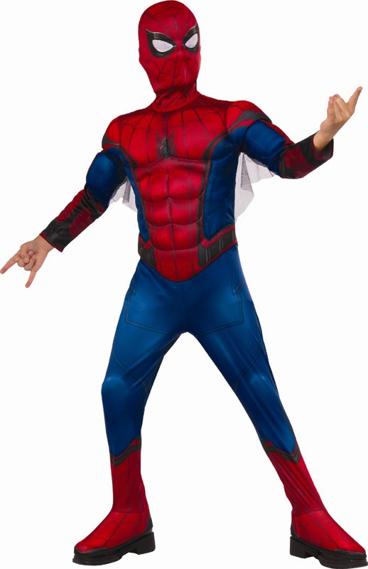 Kids Deluxe Spiderman Movie Costume