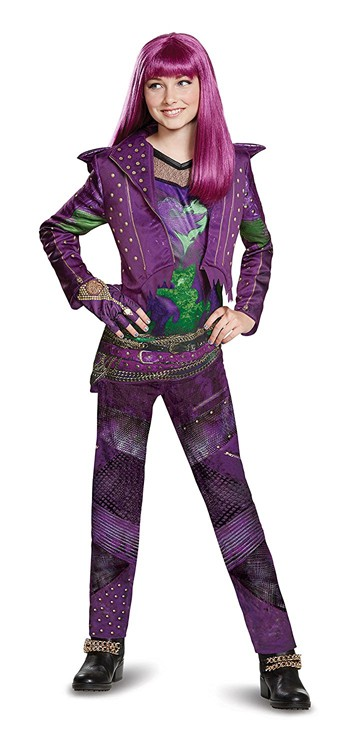 Kids Descendants 2 Mal Deluxe Costume