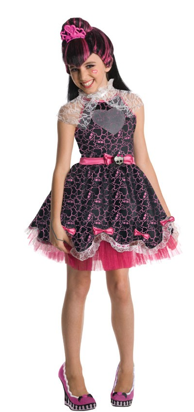 Kids Draculaura Sweet 1600 Costume