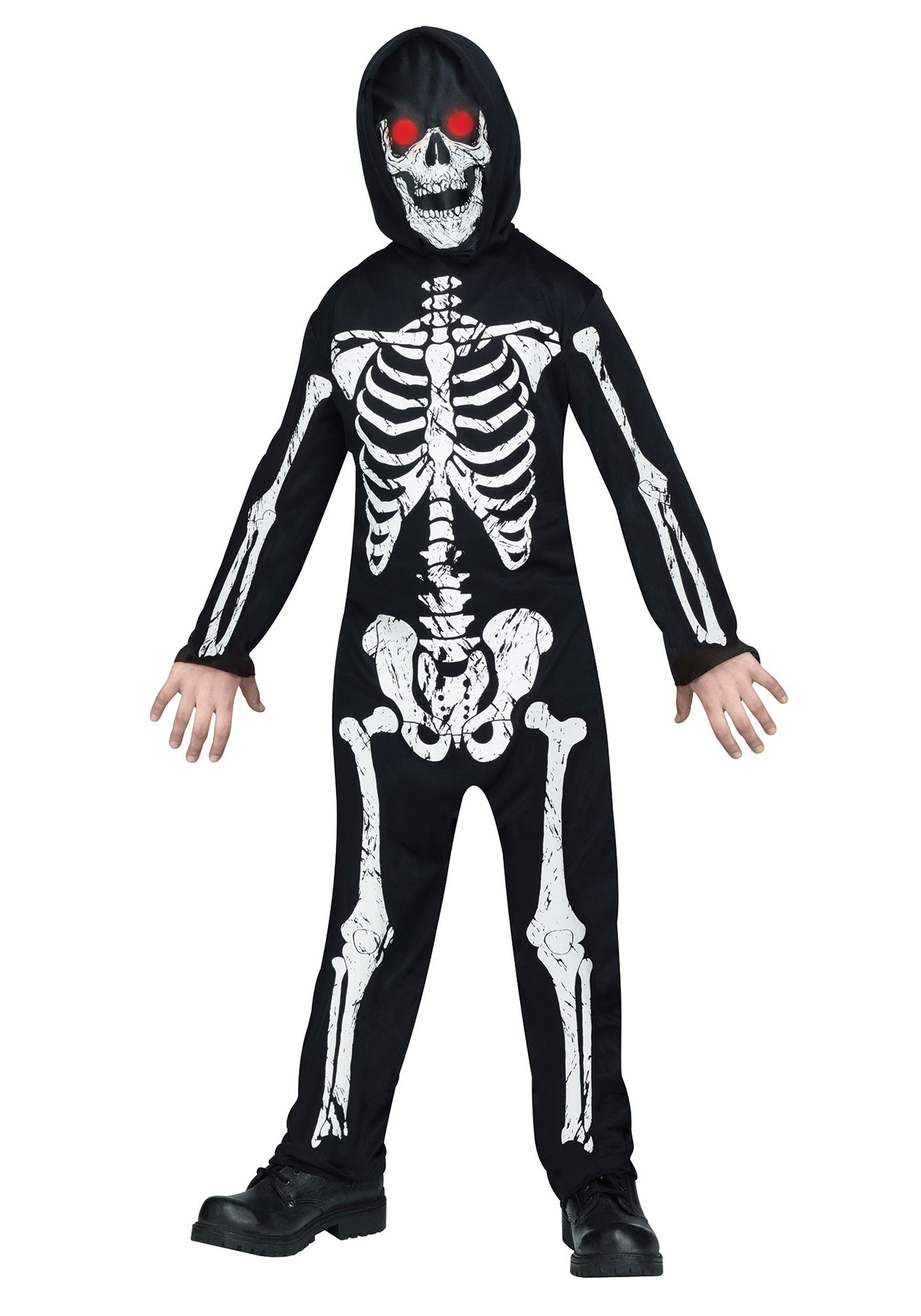 Kids Fade in/out Skeleton Costume