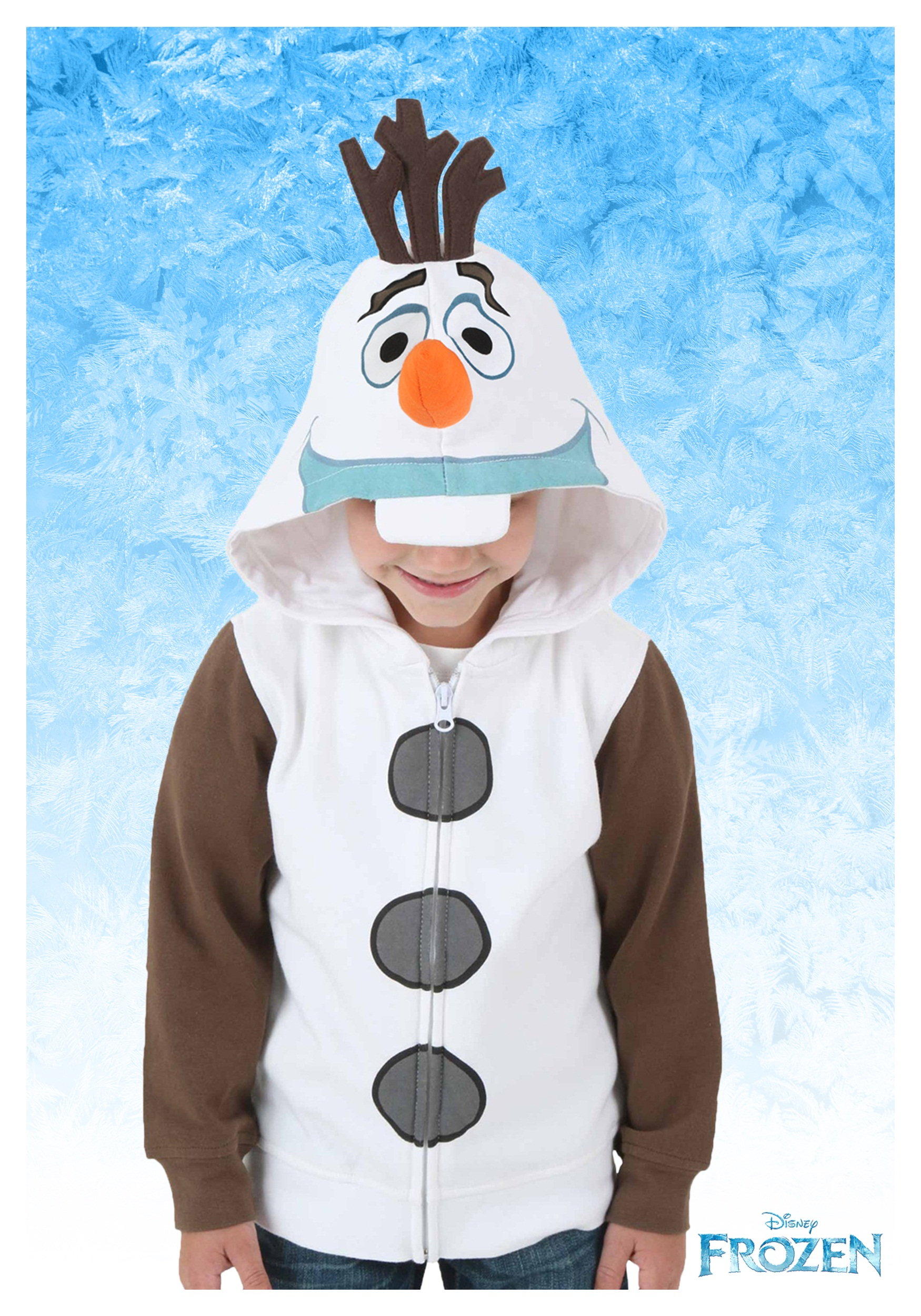 Kids Frozen I am Olaf Costume Hoodie