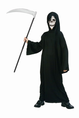 Kids Ghoul Hooded Robe