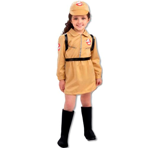 Kids Girl Ghostbusters Costume