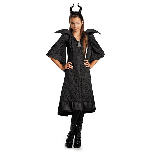 Kids Maleficent Black Gown