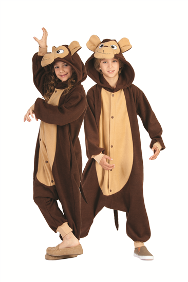 Kids Monkey Funsies Costume