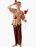 Kids Native American Brave Costume