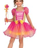 Kids Pink Garden Princess Costume