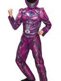 Kids Pink Power Ranger Deluxe Movie Costume