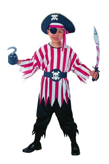 Kids Pirate Boy Costume