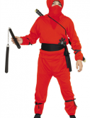 Kids Red Ninja Costume