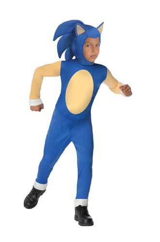 Kids Sonic the Hedgehog Costume