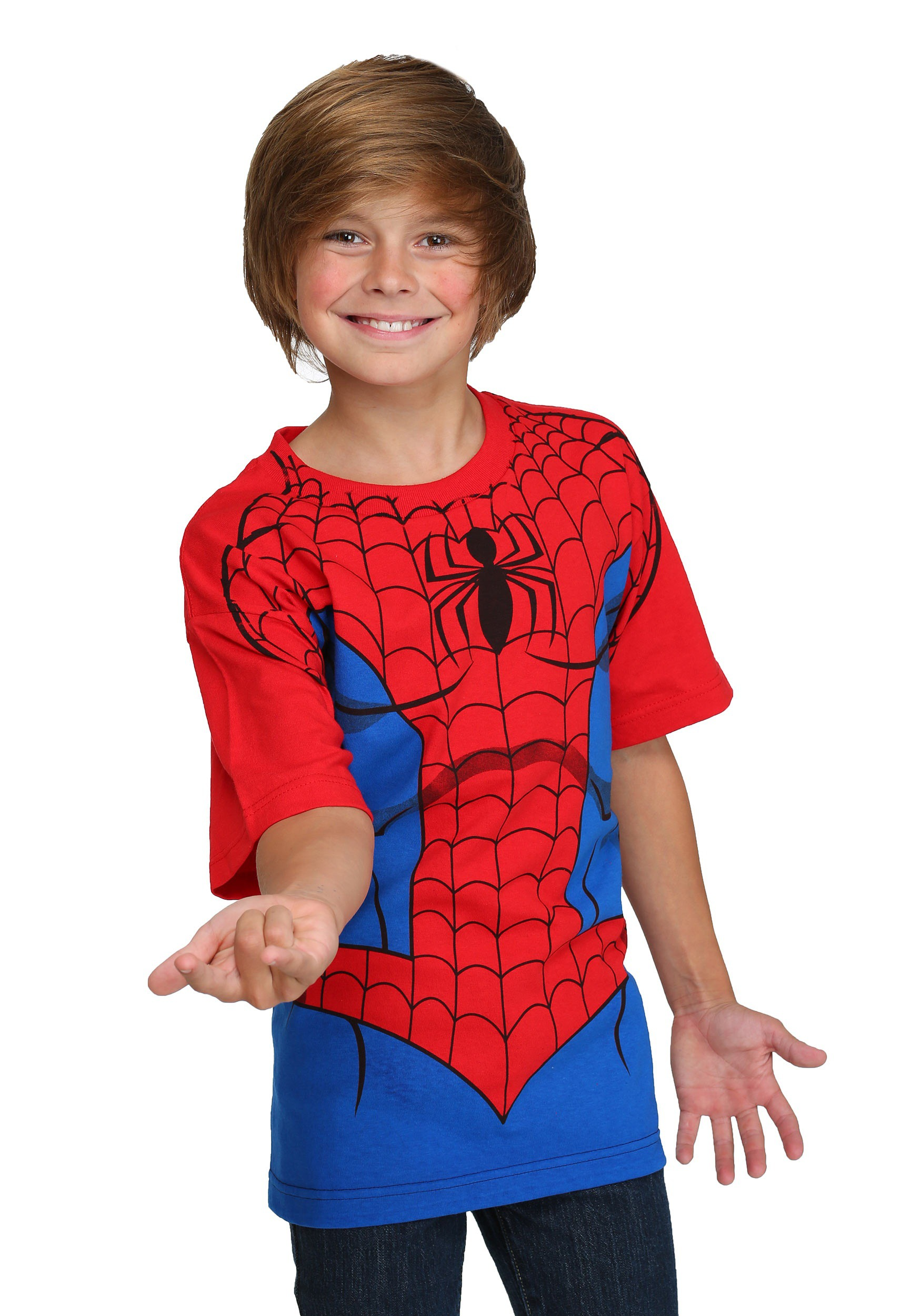 Kids Spider-Man Costume T-Shirt