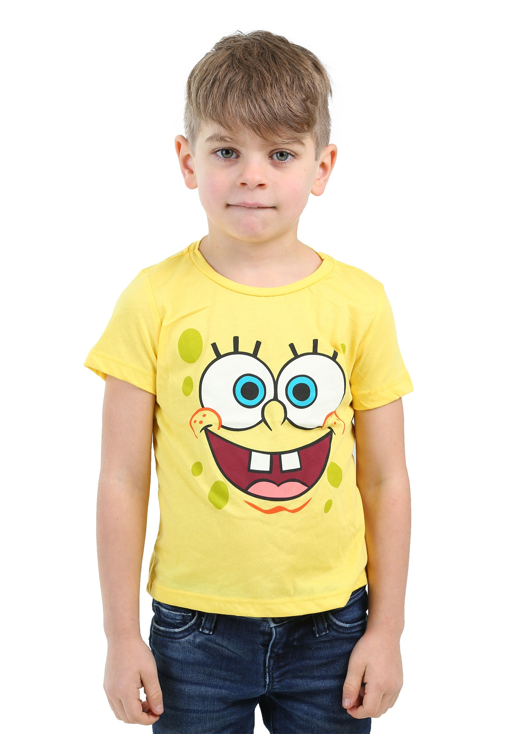 Kids Spongebob Squarepants Face Costume Shirt