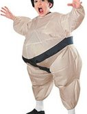 Kids Sumo Costume - Inflatable Sumo