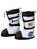 Kids White Astronaut Boots