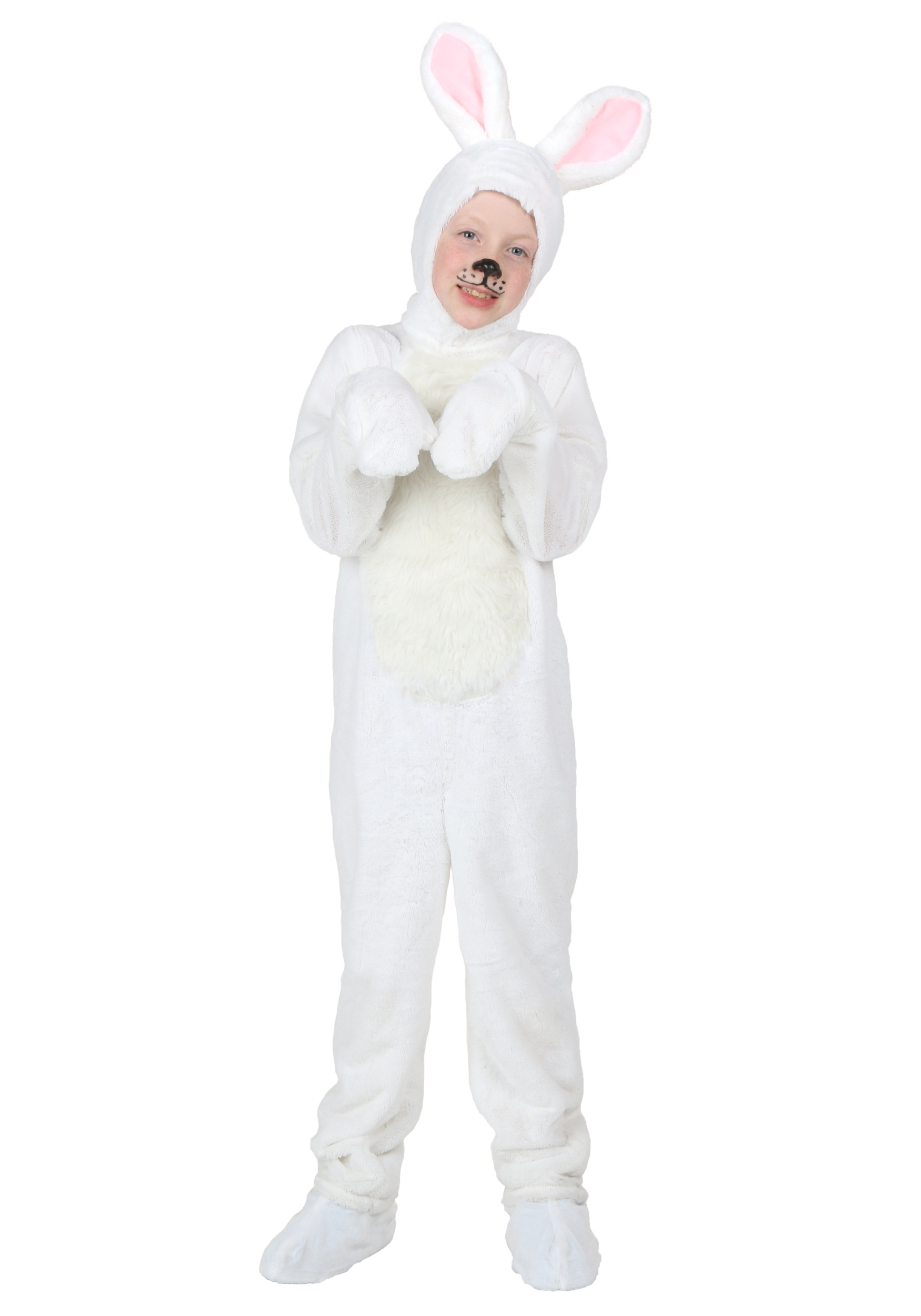 Kids White Bunny Costume