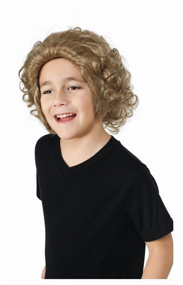 Kids Willy Wonka Wig