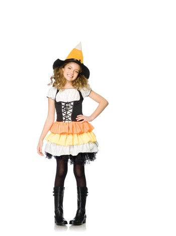 Leg Avenue Child Kandy Korn Witch Costume