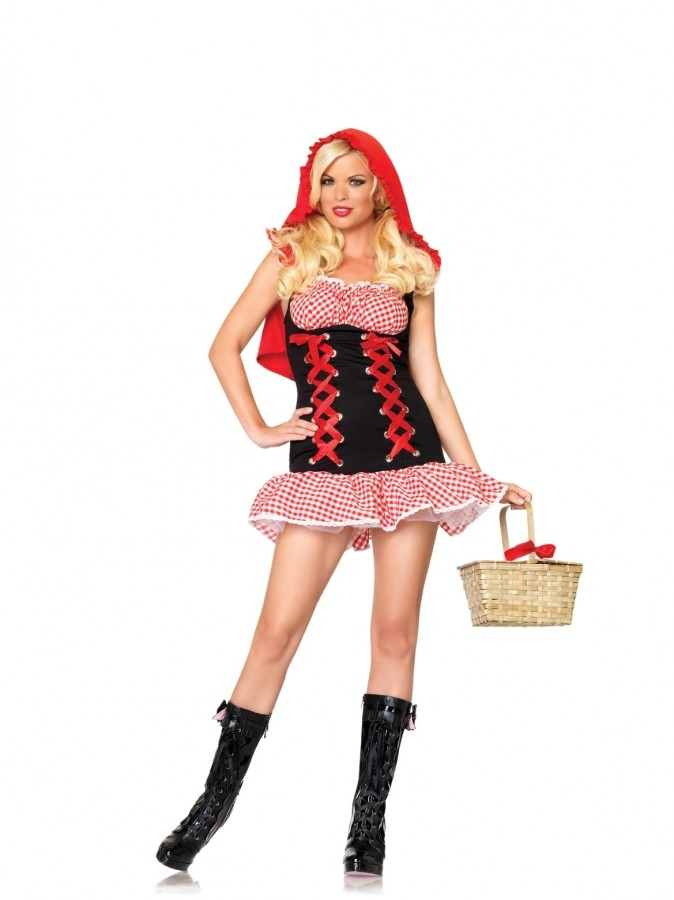 Leg Avenue Sexy Red Riding Hood Costume