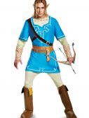 Legend of Zelda Link Breath of the Wild Men's Deluxe Costume